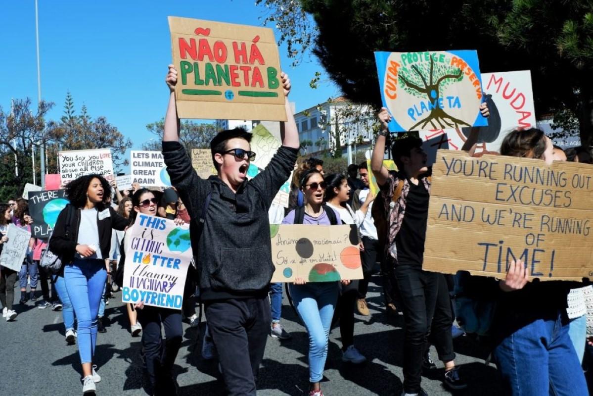 Manifestação pelo clima - Foto Sul Informação