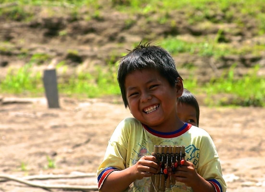 Crianças da Amazónia
