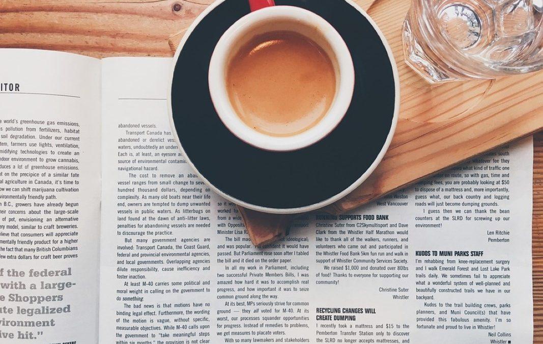 Leituras breves, num tom informal