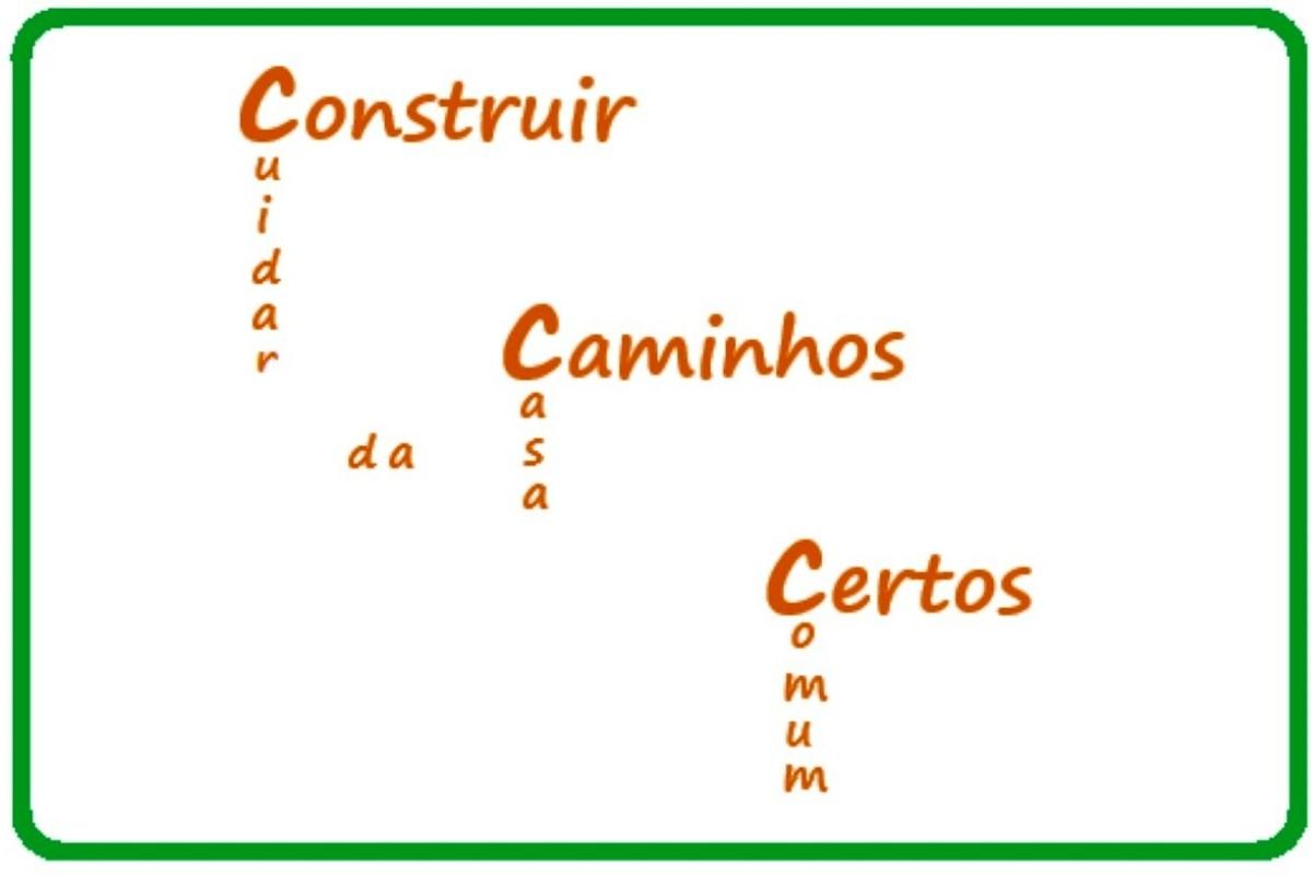 Foto CCC construir caminhos certos