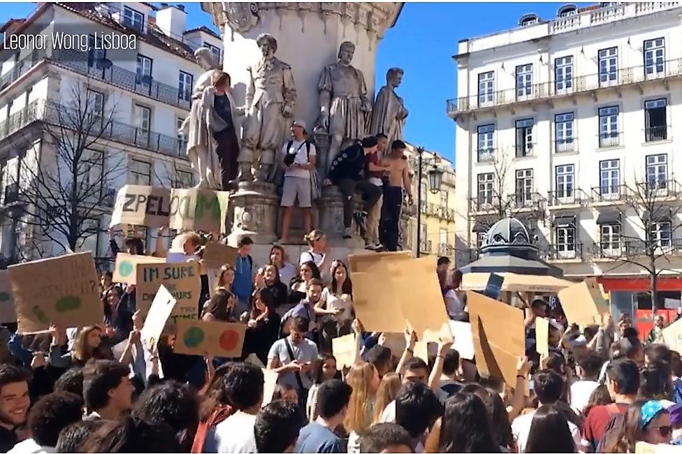 greve climática, Lisboa, mar.2019