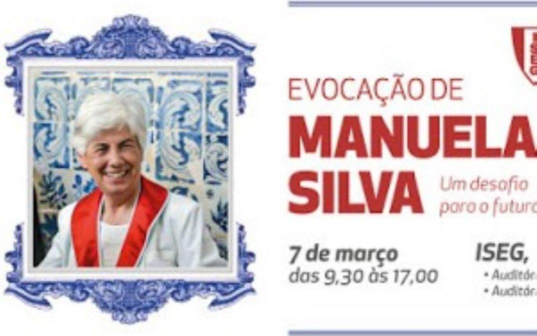 Evocação de Manuela Silva no ISEG