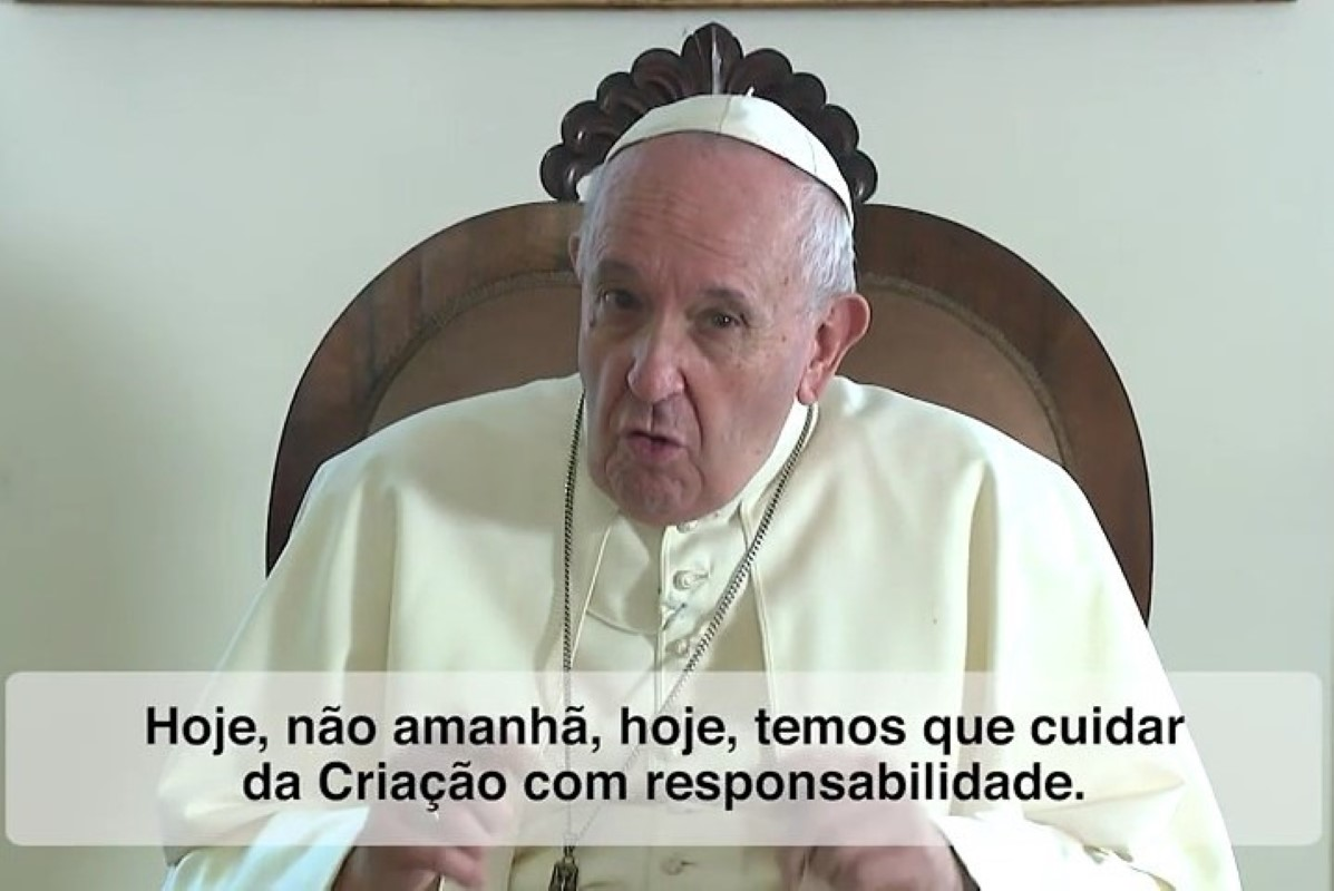 Do vídeo do Papa